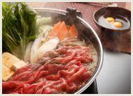夕食【すき焼き】