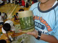 竹湯呑み作り